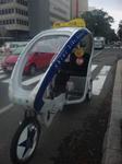 札幌エコカー名物『ベロタクシー』